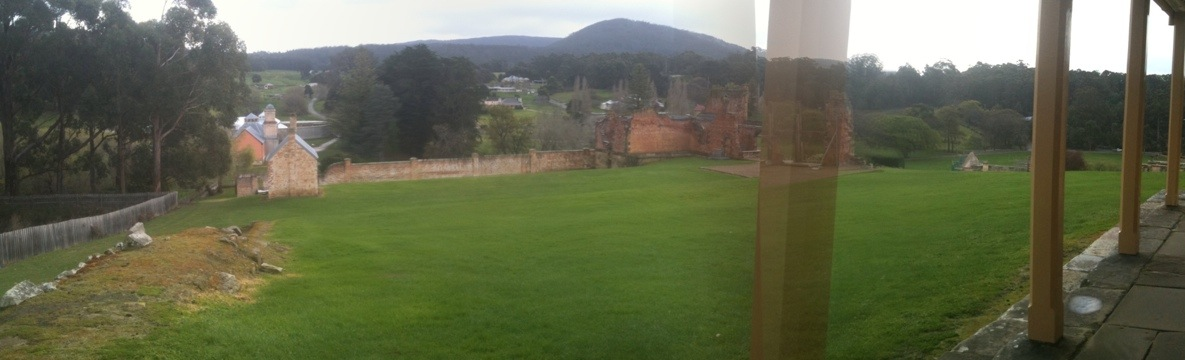 view from the old youth hostel